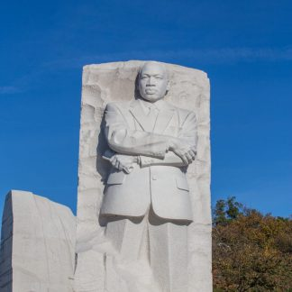 MLK Monument in Washington, DC