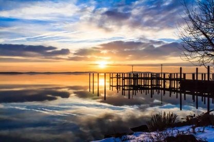 Dock in the Clouds, Concord Point, MD