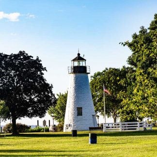 Concord Point Lighthouse, Early Morning Glow