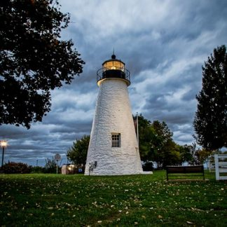 Concord Point Lighthouse, on a Stormy Morning (Portrait Orientation)
