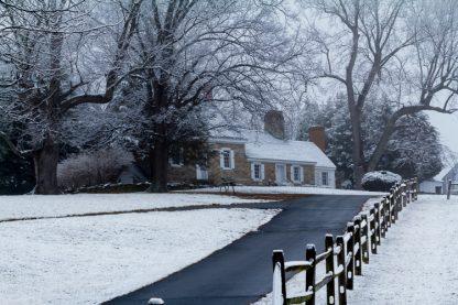 Farmhouse at Steppingstone Farm Museum